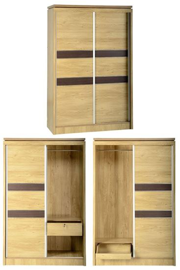Charle 2 Door Sliding Wardrobe